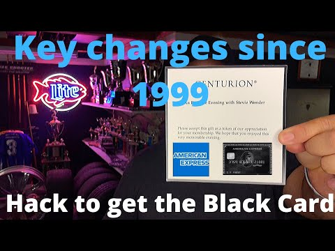 New Hack To Get The American Express Centurion Black Card. Historical Facts And Updates