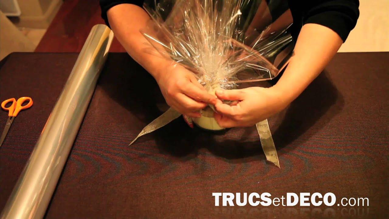 Exceptionnel Réaliser un emballage cadeau transparent - YouTube RY66