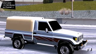 Toyota Land Cruiser 2005 Test Drive GTA SA
