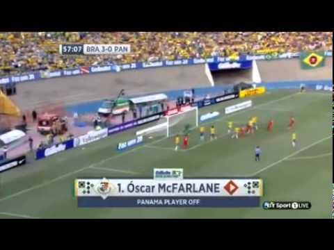 Brazil vs panama full match