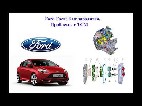 Ford Focus 3 не заводится. Проблемы с TCM