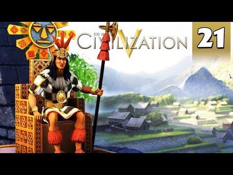 Civilization 5 Vox Populi #21 - Inca Gameplay