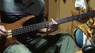 平野綾・涼宮ハルヒ(Haruhi) - Super Driver bass intro practice. ベー...