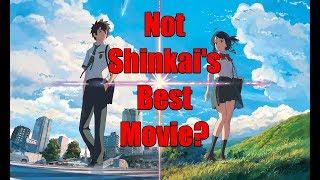 Your Name: Makoto Shinkai's Best Film? Probably Not.