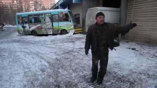 Последствия обстрела СТО в Куйбышевском р-не Донецка (ул. Куйбышева 155б, 29 января 2017)
