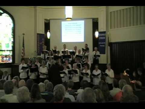 Joseph M. Martin's Hosanna, Loud Hosanna performed by the Winfield Area Singers
