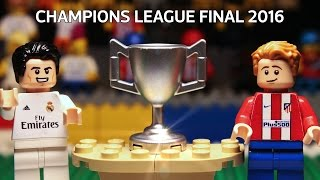 Champions League Final 2016 in LEGO