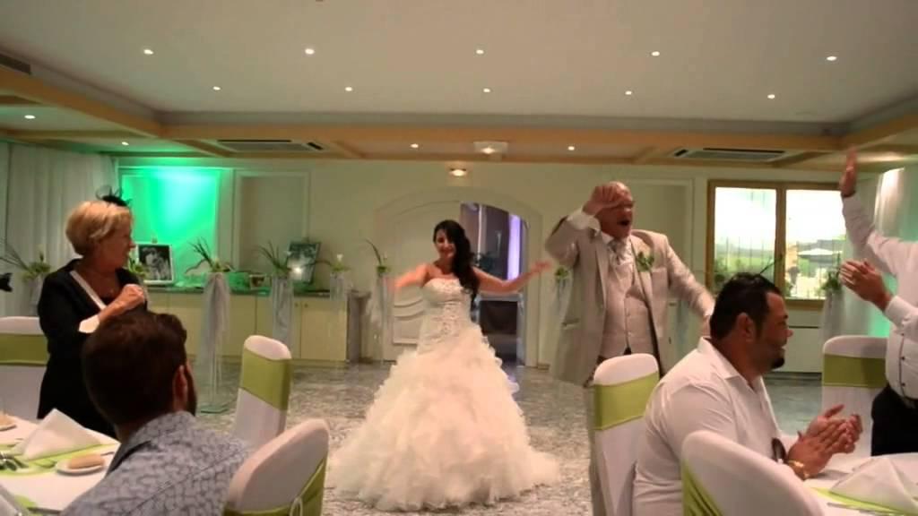 entrée des mariés dans la salle de banquet - youtube