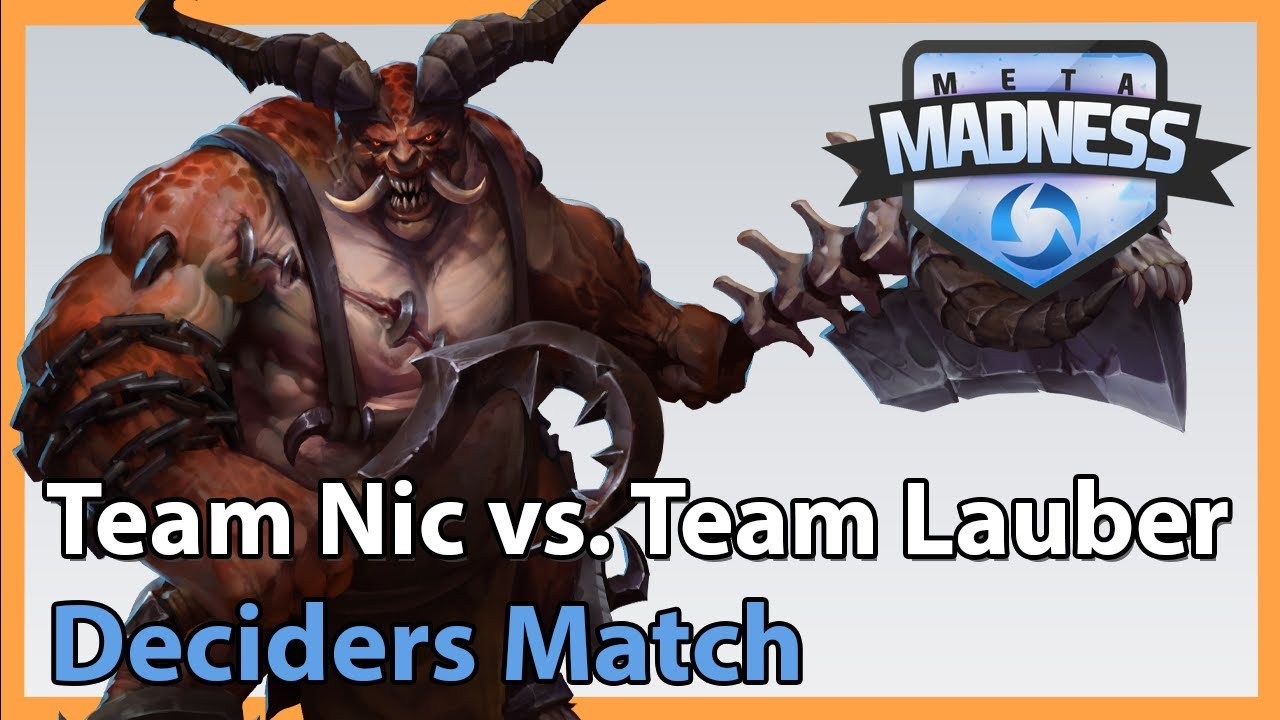 Lauber vs. Nic - META Madness - Heroes of the Storm 2020