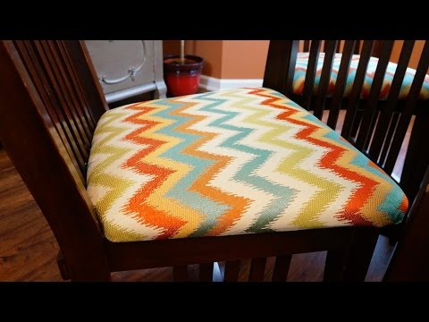How to Recover Chair Cushions DIY