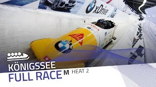 KÖnigssee | BMW IBSF World Cup 2018/2019 - 4-Man Bobsleigh Heat 2 | IBSF Official