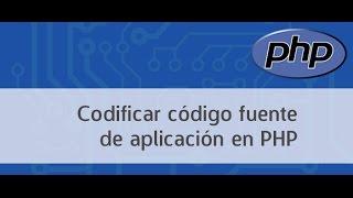 Codificar código fuente PHP
