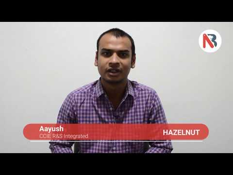 Network Bulls Placement Testimonial - Aayush Gets Job after CCIE R&S Training at Hazelnut