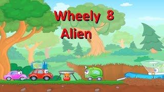 Игра Walkthrough Wheely 8 Aliens.  Геймплей флеш игры Вилли 8  Пришельцы  [Серия 2]