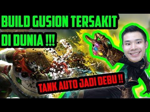 Setelah HAMPIR 1000 MATCH MAEN GUSION AKHIRNYA DPT BUILD INI!! TANK JADI ABU!! - Mobile Legends
