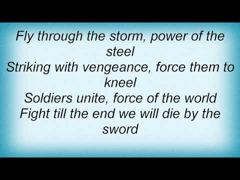 Dragonforce - Die By The Sword Lyrics