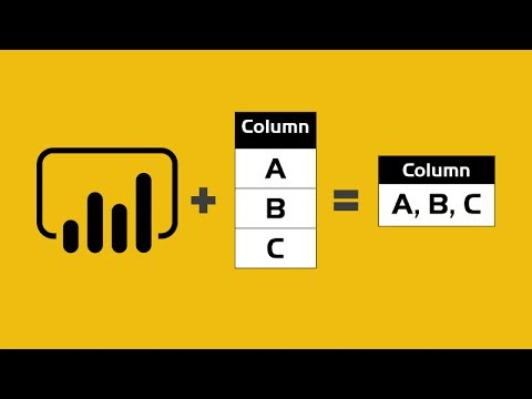 Concatenate, Merge or Combine multiple rows into one value - Power Query  for Power BI