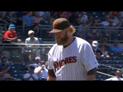 HOU@SD: Cashner strikes out 10 over seven innings