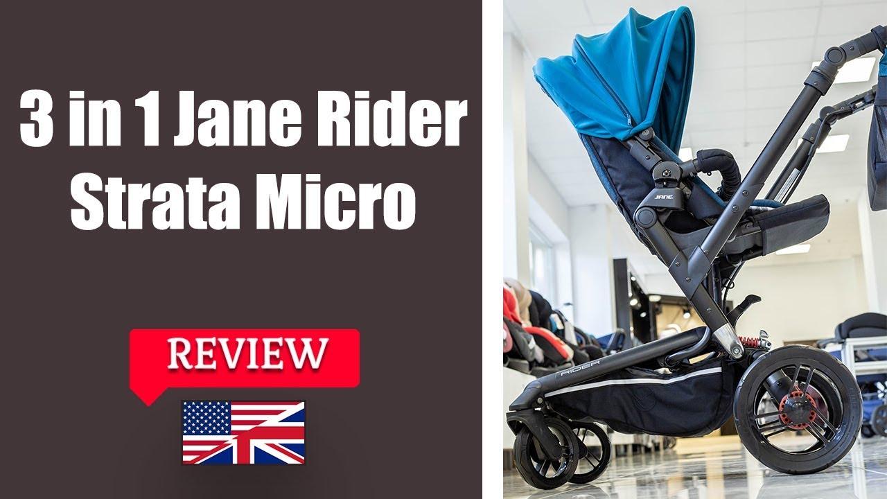 Jane Rider Strata Micro Stroller Full Review
