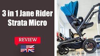 Jane Rider Strata Micro 3 in 1 - Stroller FULL review