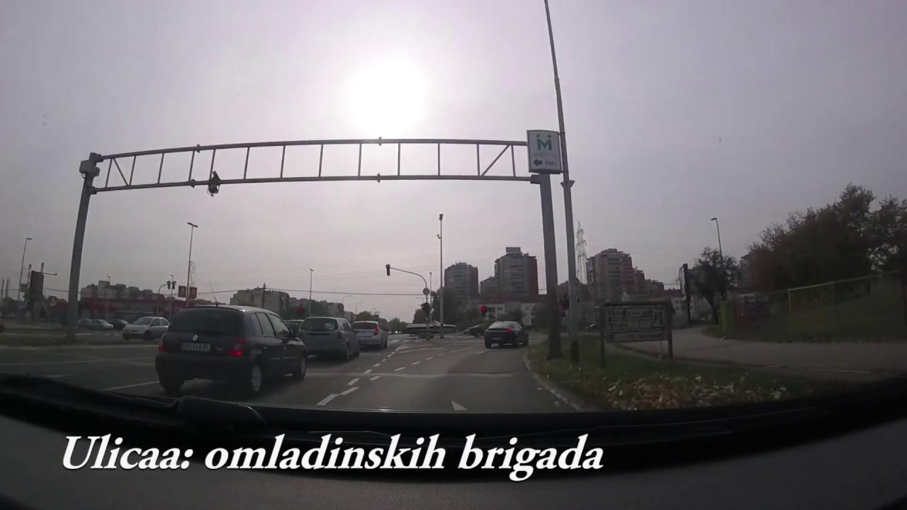 ulica omladinskih brigada beograd mapa ulica omladinskih brigada   novi beograd   YouTube ulica omladinskih brigada beograd mapa