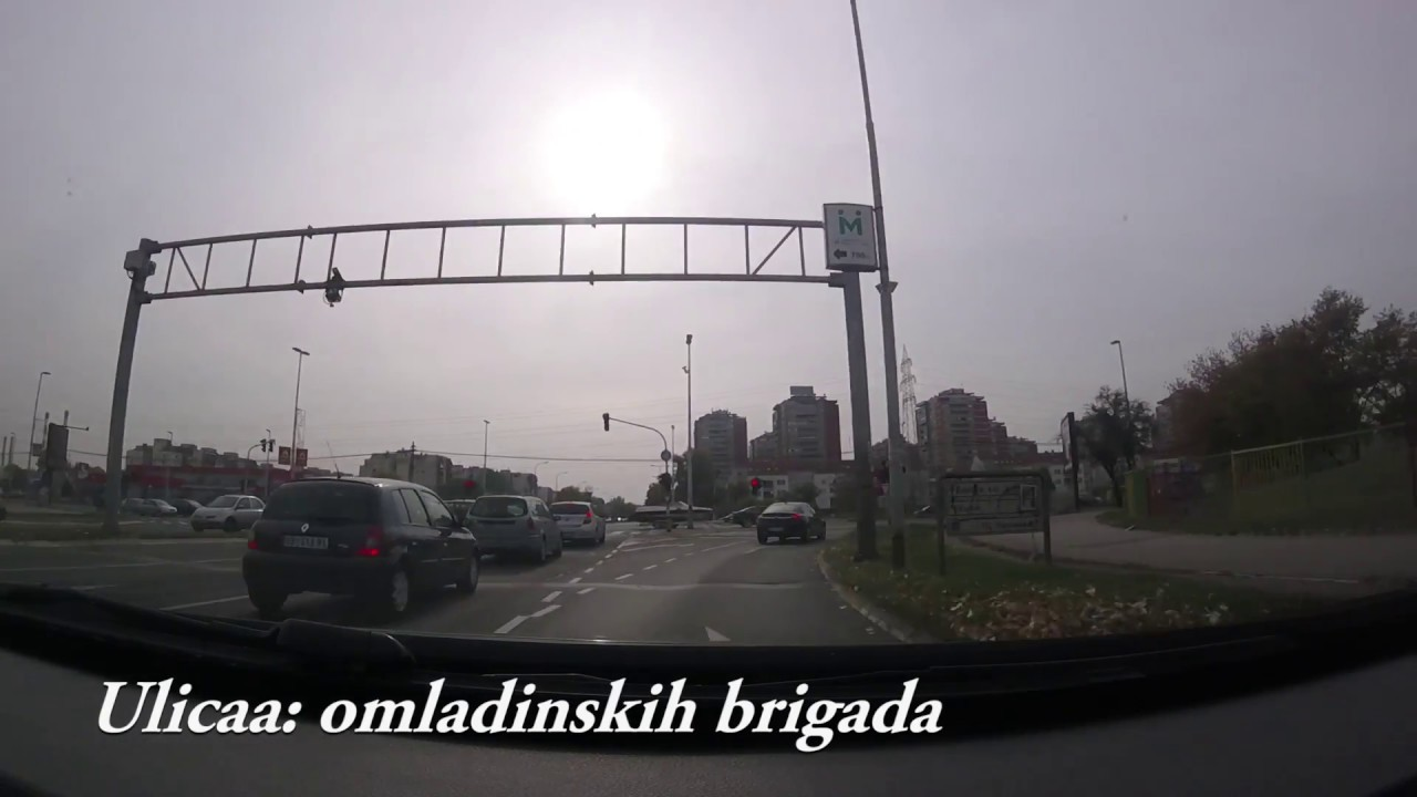 omladinskih brigada beograd mapa ulica omladinskih brigada   novi beograd   YouTube omladinskih brigada beograd mapa