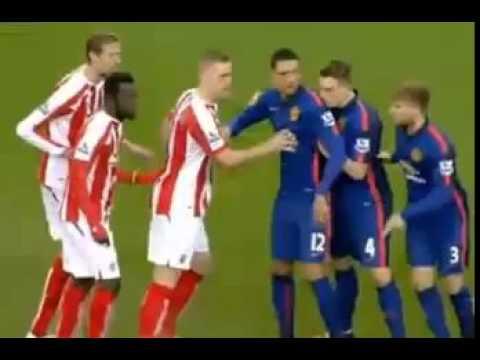 Download Stoke City 1 FC Vs 1 Manchester United FC - Liga Inglesa - Comentarios del Match