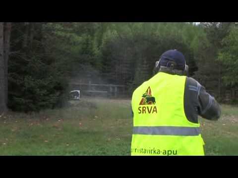 SRVA: Kohti hyökkäävän karhun ampumaharjoittelu