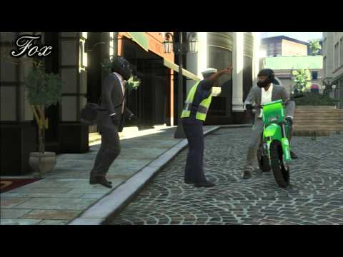 GTA V: Heist The Jewel store Loud and Dumb