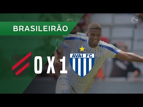 ATHLETICO 0 X 1 AVAÍ - GOL - 15/09 - BRASILEIRÃO 2019