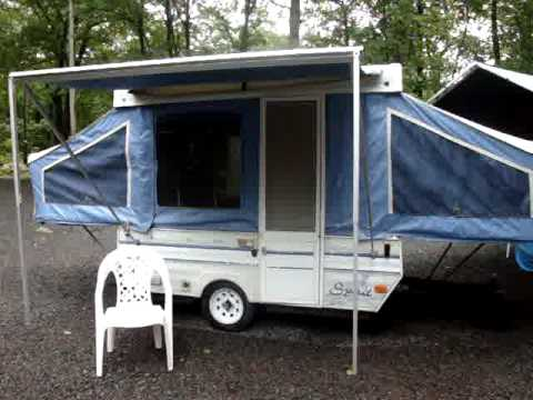 1992 Viking Spirit Sp166 Pop Up Camper 4 Sale On Ebay 6