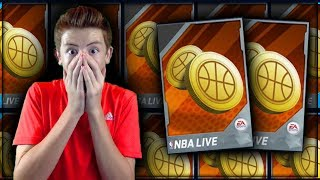 50+ ROAD TO RICHES COIN PACKS! HUGE NBA LIVE MOBILE PACK OPENING