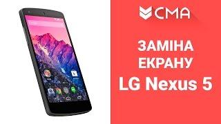 Almashtirish ekran (ekran modul) LG Nexus 5 Ta'mirlash va disassembly