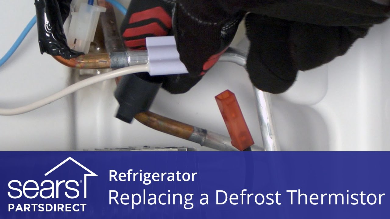 How to Replace a Refrigerator Defrost Thermistor - YouTube