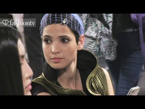 Couture Backstage: Alexandre Vauthier Fall/Winter 2012-13 | Paris Couture Fashion Week | FashionTV