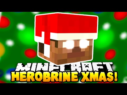 Minecraft - HEROBRINE STOLE CHRISTMAS?! (Epic Boss Map!) - w/ Preston & Kenny