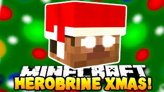 Minecraft - HEROBRINE STOLE CHRISTMAS?! (Epic Boss Map!) - w/ Preston & Kenny