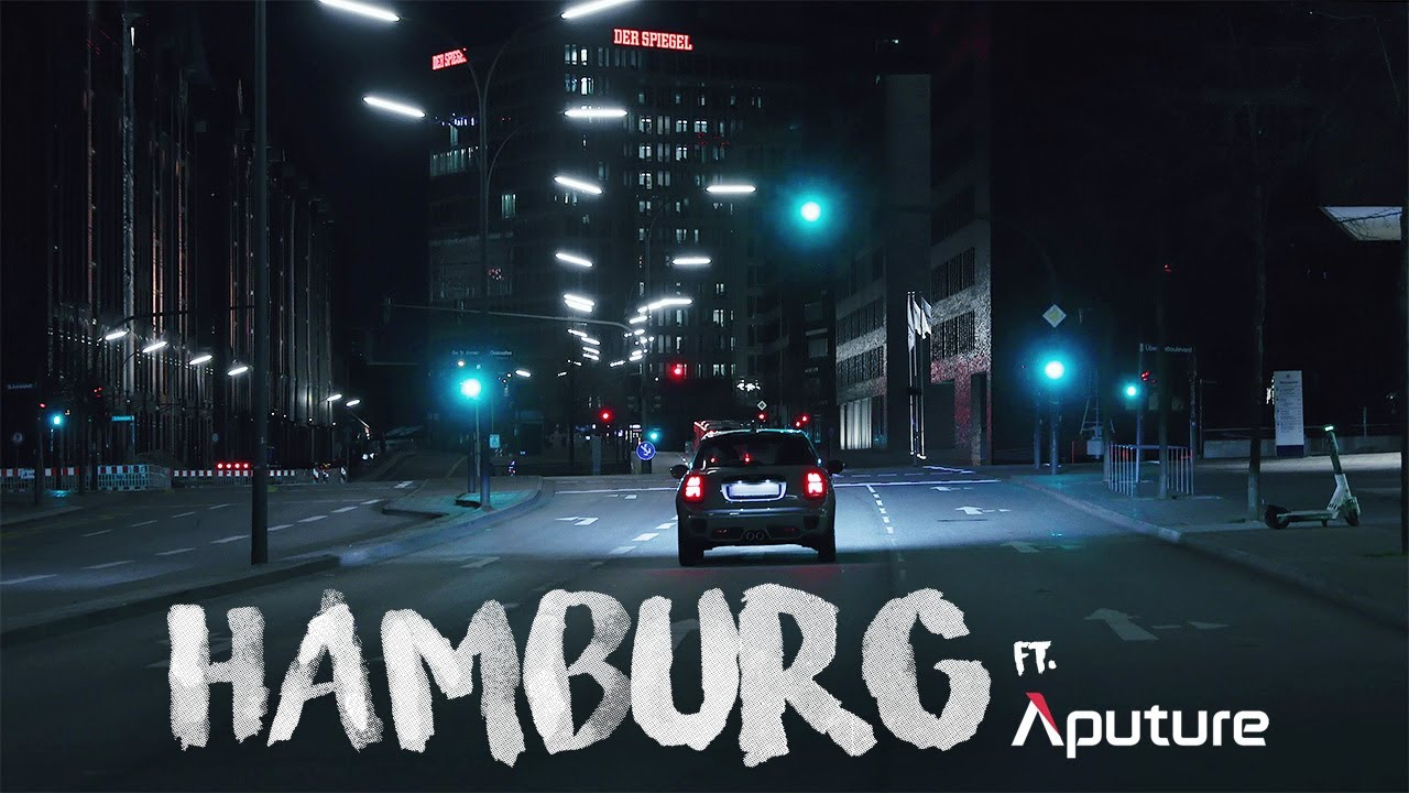 A cinematic short film of Hamburg ft. APUTURE AL-MW and MC lights