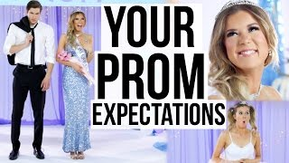 Prom Expectations vs. Realities