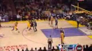 Kobe Bryant 34 points game 2 vs Utah Jazz 2008 NBA Playoffs