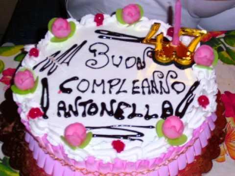 47° COMPLEANNO DI ANTONELLA CIMINO   YouTube