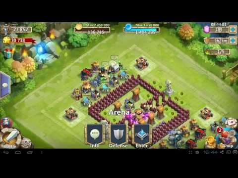 Castle Clash Immortep And Grizzle Reaper Review