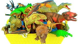 Dinosaurs For Kids Learn Dinosaur Names T rex Spinosaurus Triceratops Toys for Kids