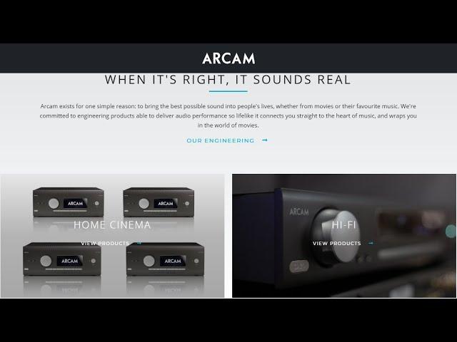 Arcam: La storia e La Tecnologia raccontate da George Robertson e James Todd