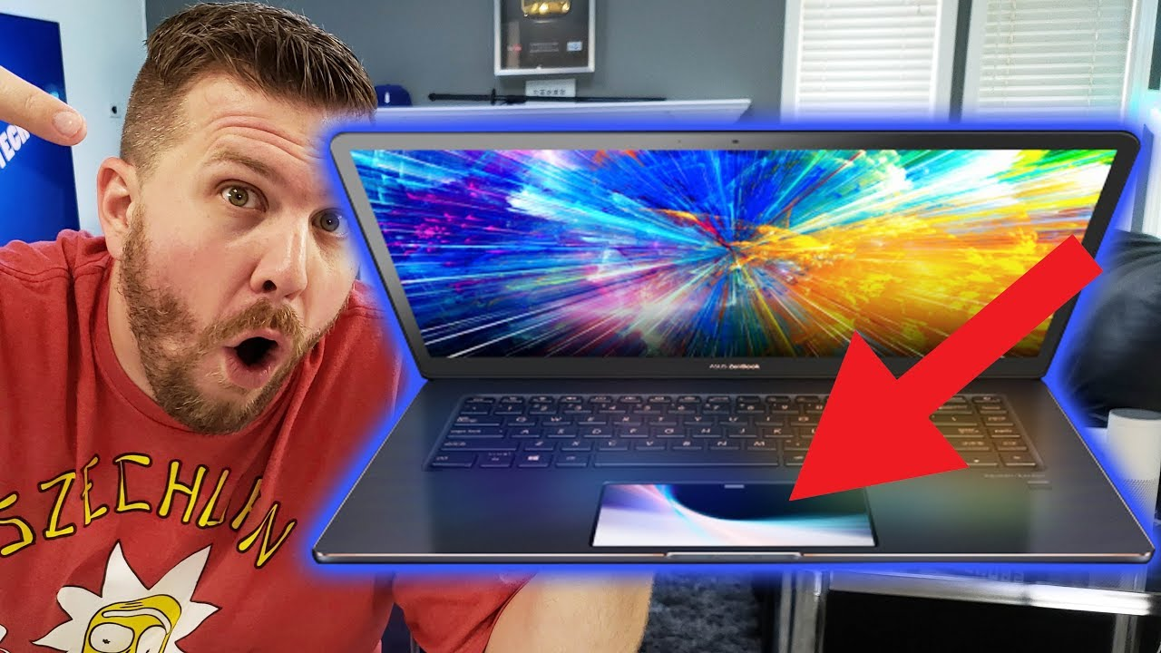 INSANE Dual Screen Laptop! Asus ZenBook Pro 15 UX550GD!