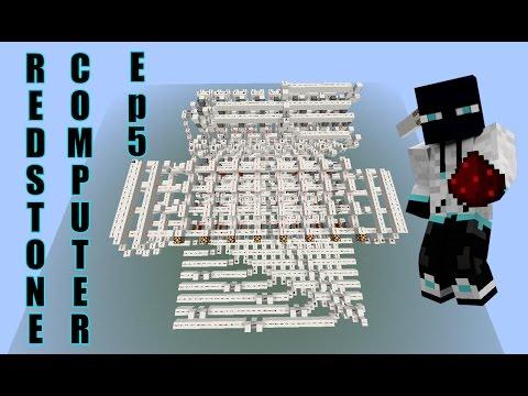 Building a Redstone computer episode 5 Instruction decoder [Computer Function episode 9]