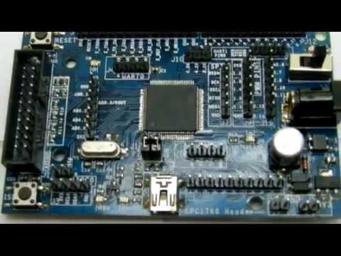 LPC1768 Header Board