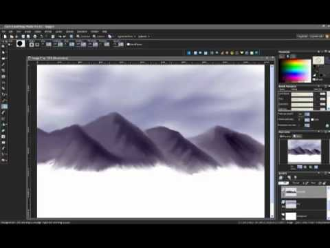 Let's Draw - Ep 10 - Digital Landscape Painting Part 1