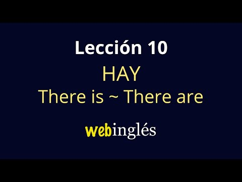 10 Hay -There is, There are -  Some, Any- Inglés para Inici