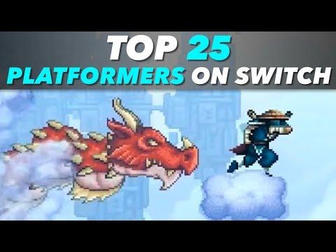 25 Best Platformers on Switch (2D)